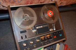 TEAC A-2300S REEL TO REEL DECK // Magnétophone