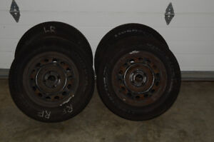 4 185/70R14 Tires - Mounted & Balanced very lightly used