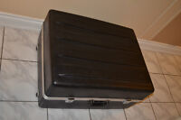 Hard Black Plastic Drum Kit Case / Equipment / Instrument Case