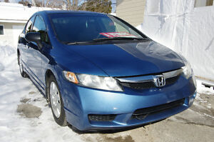 2010 Honda Civic DX Berline, système de son, mags