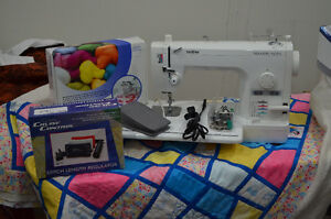 Brother PQ1500S Sewing Machine and Grace Quilting Frame