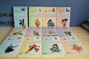 Lot de 12 livres DragonBall