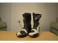 Alpinestar motorcycle boots - super cheap