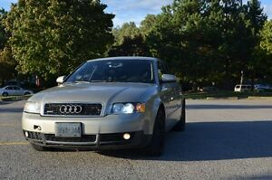 2002 Audi A4 1.8t Quattro Manual AS IS