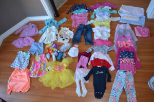 Used Baby Girl Clothes 6-18mo