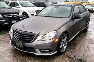 2010 MERCEDES BENZ E350 MATTE WRAP | AMG STYLING | ACCIDENT FREE