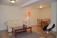 Furnished basement apartment for short term or long term rent