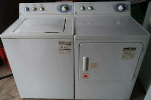 GE WASHER AND GE DRYER FOR SALE!