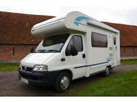 2006 5-berth Lunar Newstar 58E motorhome for sale in lovely condition REDUCED