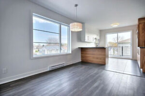 4 1/2 APPARTEMENT  | SAINT-HUBERT | CONSTRUCTION NEUVE DISPO MAI
