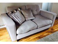 Sofa 2 seater plus 1.5 cuddle chair £280