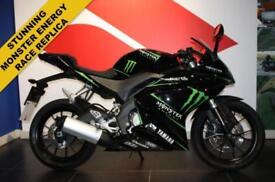 2014 64 YAMAHA YZF-R125 MONSTER ENERGY RACE REPLICA