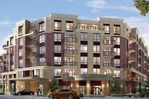 New building , 1 bedroom, 2 full bathrooms, 1 den, top floor .