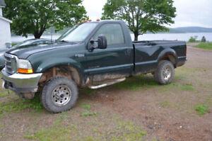 2001 F250 7.3L Diesel Truck