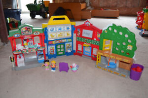 Fisher Price Little People Streetscape