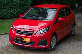 Peugeot 108 1.0 Active 2-Tronic 5dr - 6 Months Warranty - Automatic - Low Mileage 13,580 miles