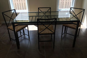 Ikea 4 chair table set needs to go!