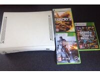 Xbox 360 with 3 games good condition