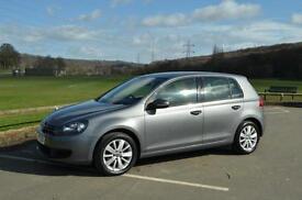 VW GOLF 1.6 TDi MATCH, BLUEMOTION, 2011 11 PLATE**62K**