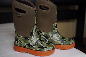 Bogs Classic Camo Kids' Insulated Boots (-34°C), Size 3