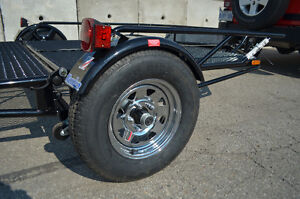 Kendon Stand Up Double ATV trailer, Stores upright in 8`X2` Kitchener / Waterloo Kitchener Area image 4