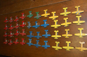 Vintage Miniature Tin Airplanes