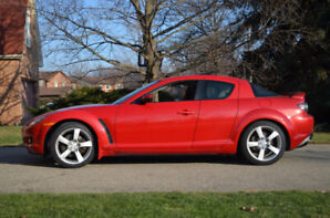 2006 Mazda RX-8 GT Coupe (Manual 6-Speed) + Winter Rims & Tires