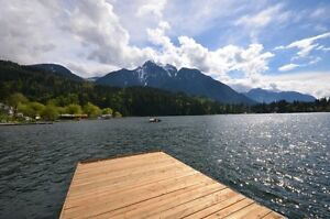 Home with Absolutely Beautiful Lake & Mountain Views .34 Acre!