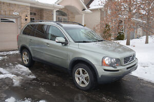 2008 VOLVO XC90 3.2 AWD 7 PASS LEATHER DVDS SUNROOF TOW PKG