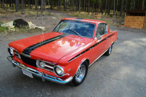 1965 Plymouth Barracuda, Rare, Restored, Awesome Hot Rod - $30k