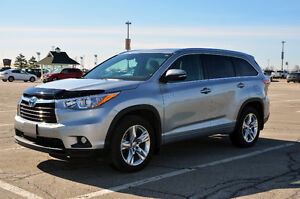2014 Toyota Highlander Hybrid Limited+Only 35,000kms+No Accident