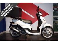2017 PEUGEOT TWEET 125 DELIVERY BIKE***WHITE ONLY SILLY CHEAP***