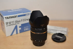 Tamron SP AF 17-50mm f/2.8 for Nikon