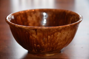 Small antique Rockingham ware bowl