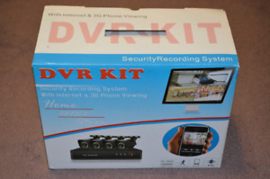 Brand New - HD Home Security CCTV Kit with 1080P Bullet Cameras