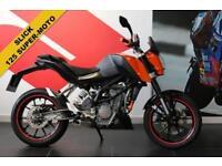 2014 14 KTM 125 DUKE 14 ***SUPER-MOTO***