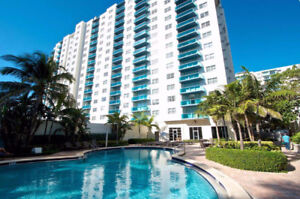 CONDO SUR LA PLAGE HOLLYWOOD FLORIDE 7C CHIC ET ABORDABLE