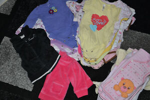 Girl clothes 0-12M