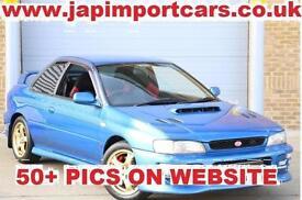 SUBARU IMPREZA Type R 555 WRX STI Edition Rare Appreciating classic, Blue, Manua