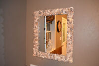 Moving Sale...Large hand-made Shell Mirror