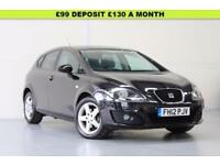 2012 SEAT LEON 1.6 CR TDI SE 5DR FSH | AUX | JUST SERVICED