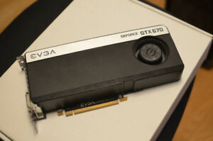 Nvidia Geforce GTX 670 Reference Edition