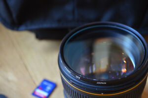 NIKON 85mm f1.4G AF-S Lens with FREE ADD-ONS