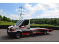 VW CRAFTER 2.5 TDi RECOVERY TRUCK, 2009 59 PLATE