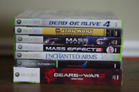 Various Games (Gears of Wars, Mass Effect, Star Wars..)