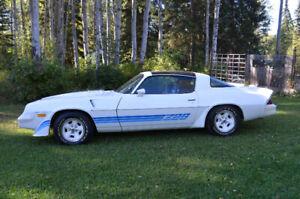 1981 Z28 Camaro with very low mileage