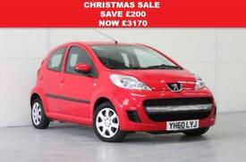 2010 PEUGEOT 107 1.0 URBAN 5DR £20 TAX | £78.12 A MONTH