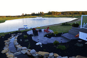 Lake View RV Lots Ready to Live On at Trestle Creek Golf Resort Strathcona County Edmonton Area image 3