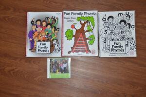 "Fun Family Phonics by Muriel Endersby ""Wind and Tide"" Preschool"