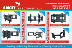 TV WALL Mounts Full motion at great deal !!!